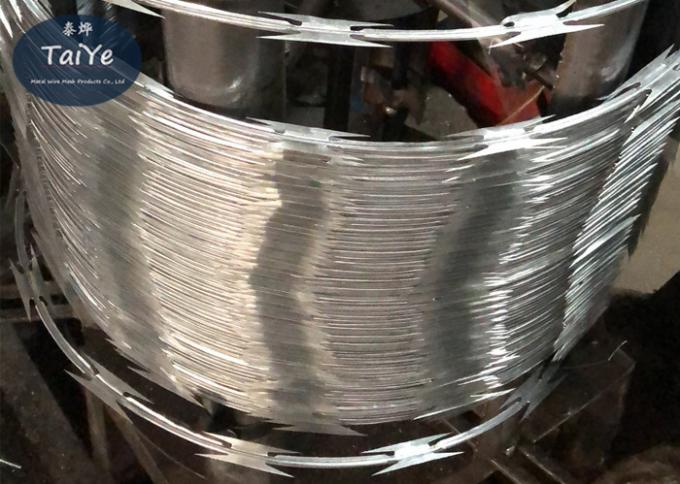 Standard Specification CBT 65 Razor Wire Single Coiling Without Clips