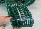 PVC Coated BTO-10 Razor Barbed Wire Fence With High Strength For Fencing