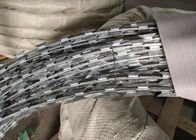 Q195 Galvanized Razor Concertina Barbed Wire BTO - 22 For Prison Fence