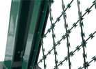 Pvc Coated Welded Wire Fabric Frontier Of Concertina Welded Razor Wire