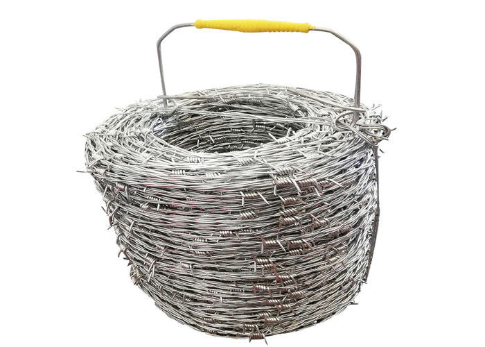 Hot - Dipped Galvanized Security Barbed Wire For Airport Prison Fence