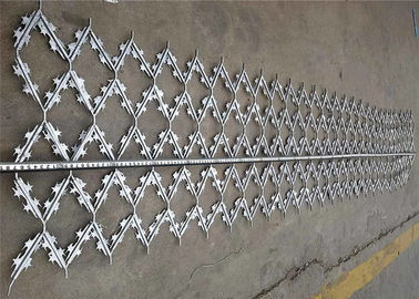 China Custom Hot Dipped Galvanized Welded Barbed Wire Mesh Protection Fence Panel factory