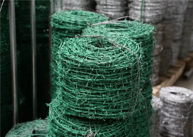 China Pvc Coated Iron Security Barbed Wire For Airport Prison Security Fence factory