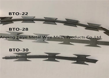 China Twisted Strand Concertina Razor Barbed Wire Fencing Barbed Wire Mesh factory
